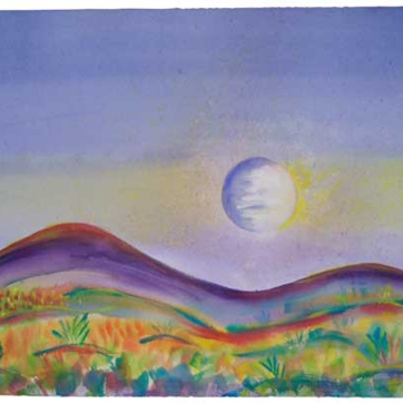 Full Moon One / Lisa Bauer Design